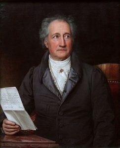 Retrato de Johann Wolfgang von Goethe (Stieler 1828) - Goethe Institut, el alemán en el mundo