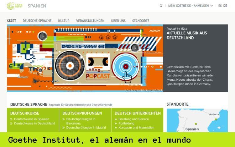 Goethe-Institut, el alemán en el mundo